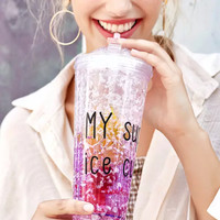 FREEZER MUG,Gelas Es, Mug Souvenir,Termos Es, My Super Ice Cup