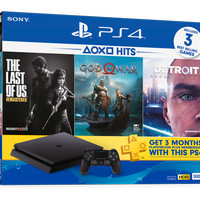 Playstation 4 Slim Hits bundle 500GB bonus tas