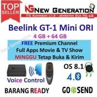 Beelink GT1 MINI Android Tv Box Voice Remote RAM 4GB ROM 64GB 8.1OREO