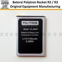 Baterai Polytron R2 R2406 Rocket R3 R2407 PL-6M4C PL6M4C PL-604 PL604