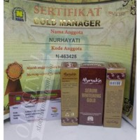 Jual Moreskin Serum Whitening Gold Nasa / Serum Putih dan