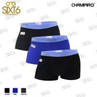 Sangat Populer Champiro / Celana Dalam Pria / Art0330 / 3Pcs Trunk -