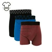 Termurah Boxer Pria Jumbo Lgs 677 Isi 3 - Celana Dalam Boxer Big Size