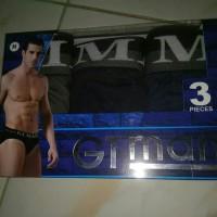 Terlaris Celana Dalam Pria Gt Man Gtman Gtk-09 Isi 3 Kaos Dalam Harga