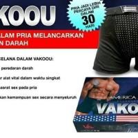 Terlaku Celana Dalam Kesehatan Pria Vakoou Original 100% Best