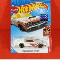 Hot Wheels FS2018 - 69 Dodge Coronet Superbee White