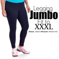 Legging Wudhu Legging Polos Import Celana Jumbo XXXL Spandex melar sam