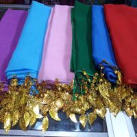 Selendang tari rumbai ronce untuk dewasa adat nusantara karnaval pawai