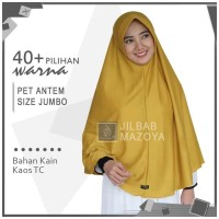 Terbaru Jilbab Instan Pet Antem Jumbo / Hijab Kaos Bergo Anthem Size