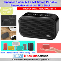 Speaker Xiaomi MiFa M1 Stereo Portable Bluetooth with Micro SD - Black