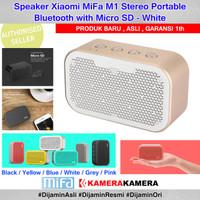 Speaker Xiaomi MiFa M1 Stereo Portable Bluetooth with Micro SD - White