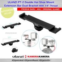 ULANZI PT-2 Dual Cold Shoe Extension Bracket for DSLR SmartPhone