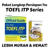 PAKET PROMO BUKU ETS TOEFL ITP SERIES (OFFICIAL GUIDE + PRACTICE TEST)