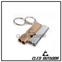 Gantungan Kunci Peluit Alumunium