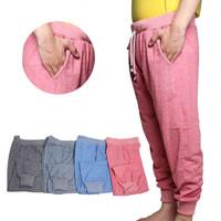 Season2 [Valatex] Celana panjang jumbo jogger / bahan adem / 4 warna