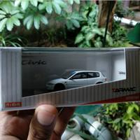 Tarmac Works Honda Civic EG6 Gr.A Racing Putih Back In Box 1 : 64