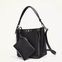 Tas Zara Double Zip 2 in 1 Impor Original Zara Handbag Murah - Hitam