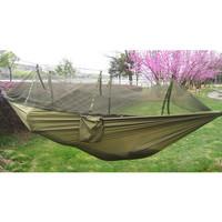 Hammock Parasut Dengan Net Anti Nyamuk Kasur Gantung Camping