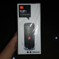 JBL FLIP 3 PORTABLE BLUETOOTH SPEAKER BLACK!