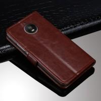 Case Motorola Moto E4 Plus casing hp dompet leather FLIP COVER WALLET