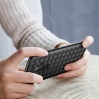Case Huawei Nova 2 Lite casing hp back cover ultra thin tpu grid WOVEN