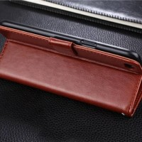 Case Oppo F3 Plus case casing dompet leather retro FLIP COVER WALLET