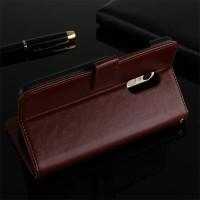 Case Lenovo K6 Note casing hp dompet kulit leather FLIP COVER WALLET