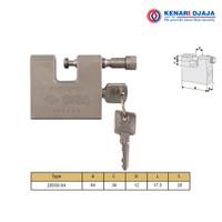 Gembok CISA |Hardened Steel Padlock CISA 28556-84