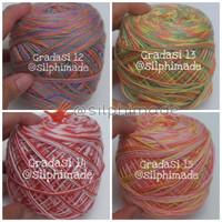 Soft Cotton Small Ply Gradasi (Benang Rajut)