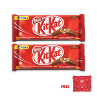 KitKat Multipack 6 Packs [2 Pcs] Gratis Pouch KitKat