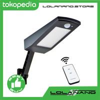Lampu Solar Sensor Gerak Outdoor 48 LED 900 Lumens Remote - 1619