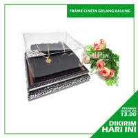 Nampan Frame Perhiasan Gelang Cincin Kalung Kotak Hantaran Seserahan