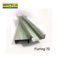 Metal Furring 70 APLUS furing system