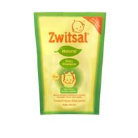 Zwitsal Baby Shampoo Natural with Aloe Vera Kemiri Seledri Pouch 450ml