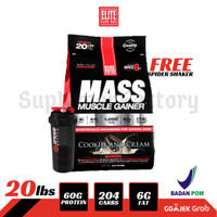 Elite Labs Mass Muscle Gainer 20 LBS