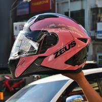 helm zeus zs811 pink