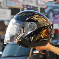 helm zeus zs610 hitam mengkilat