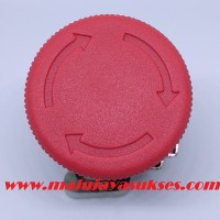 Emergency Push Button 22mm NO NC NONC- Tombol Darurat Panel