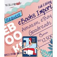 Jasa Request eBooks: Textbooks/ Novel di Goodreads (eBook/Kindle)