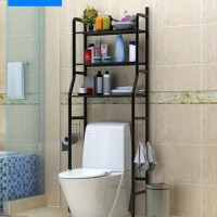New X90 Rak Toilet Organizer WC Tissue Sabun Kloset Kamar Mandi