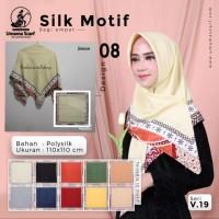 Kerudung/ Jilbab/ Hijab Silk Motif by Umama Scarf