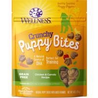 Wellness Grain-Free Crunchy PuppyBites Chicken & Carrots Recipe Treats