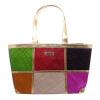 Tuku Tuku Craft Totebag Handmade Rotan Wanita - Mix Color