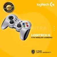 Logitech F710 / F 710 Stick Game Wireless Joystick Joystik Controller