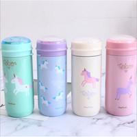 Botol Minum Thermos Mug motif Unicorn termos 350ml - TBR046