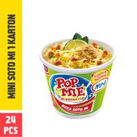Pop Mie Mini Kuah Rasa Soto 1 Dus/24pcs 960gr