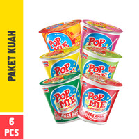 Pop Mie Paket Kuah 6pcs 450gr