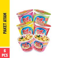 Pop Mie Paket Ayam 6pcs 376gr