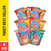 Pop Mie Paket Best Seller 6pcs 450gr