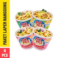 Pop Mie Paket Laper Nanggung 4pcs 152gr